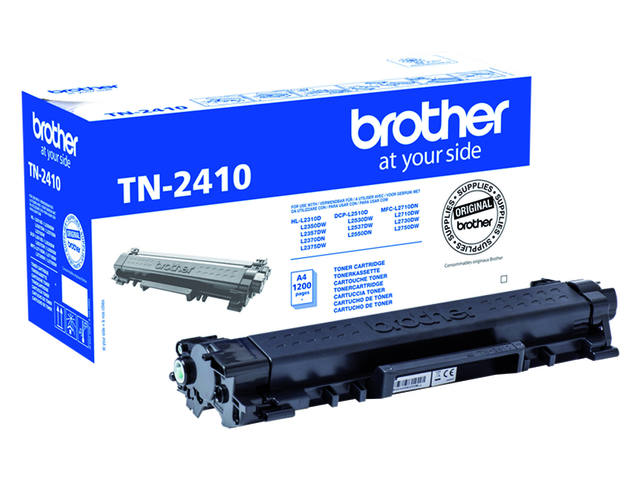 TONER BROTHER TN-2410 1.2K ZWART 1