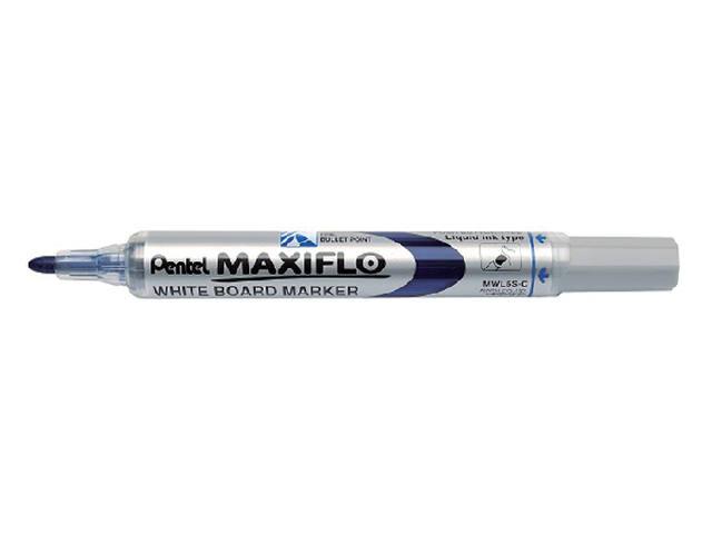 VILTSTIFT PENTEL MWL5 WHITEBOARD MAXIFLO 1MM BLAUW 1