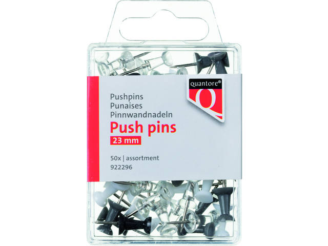 PUSH PINS QUANTORE ASSORTI