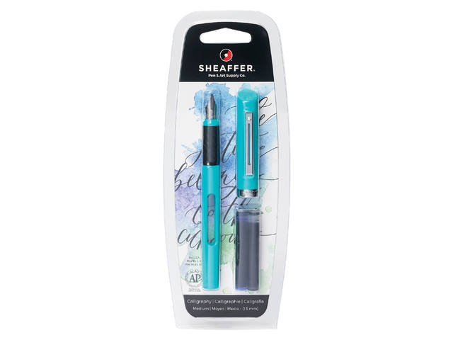 KALLIGRAFIEPEN SHEAFFER VIEWPOINT 1.3MM BLAUW 1