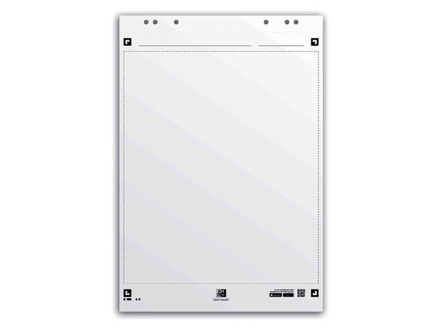FLIPOVERPAPIER OXFORD SMART 65X98CM BLANCO 90GR 20V