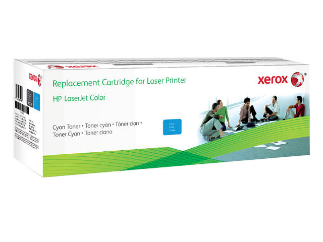 TONERCARTRIDGE XEROX HP CF401X 2.4K BLAUW