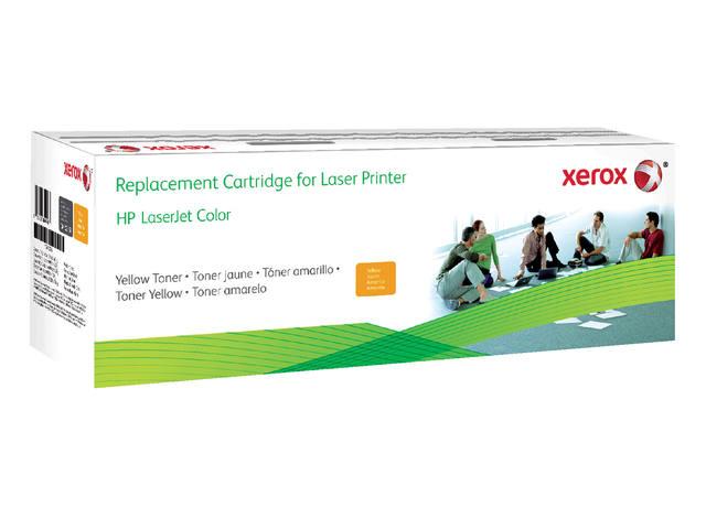 TONERCARTRIDGE XEROX HP CF402X 2.4K GEEL
