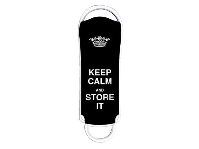USB-STICK INTEGRAL FD 16GB KEEP CALM ZWART 1