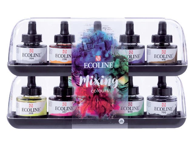 TALENS ECOLINE SET MIXING 10xL 5x30ML