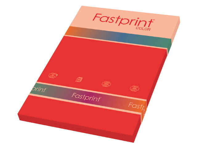 KOPIEERPAPIER FASTPRINT-50 A4 160GR FELROOD