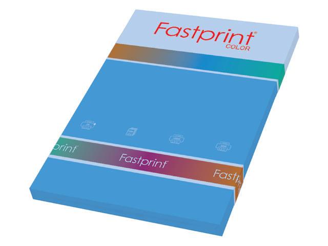 KOPIEERPAPIER FASTPRINT-100 A4 120GR DIEPBLAUW 1