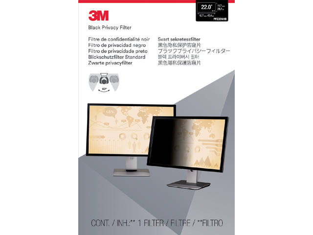 PRIVACY FILTER 3M 22.0 WIDE RATIO 16.10