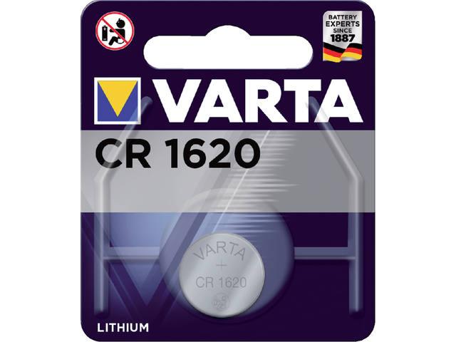 BATTERIJ VARTA CR1620 LITHIUM