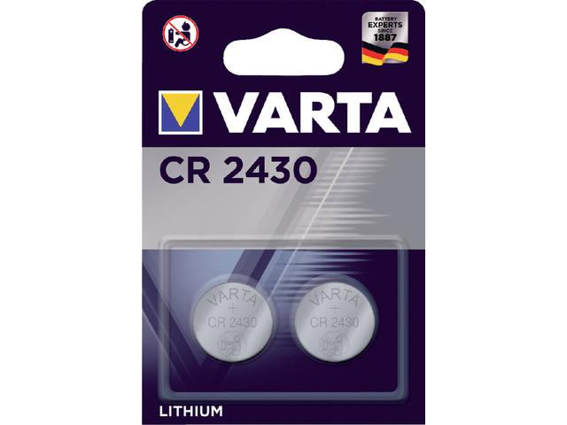 BATTERIJ VARTA CR2430 3V LITHIUM