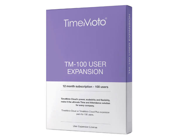 SAFESCAN TIMEMOTO TM-100 CLOUD USER EXPANSION