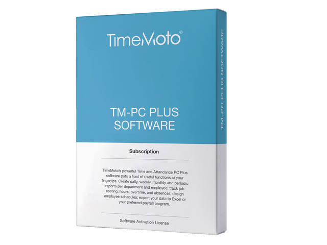 SAFESCAN TIMEMOTO TM-PC PLUS PLANNINGSSOFTWARE