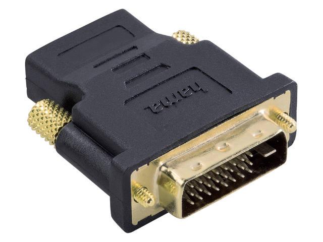 ADAPTER HAMA DVI/M-HDMI/F ZWART