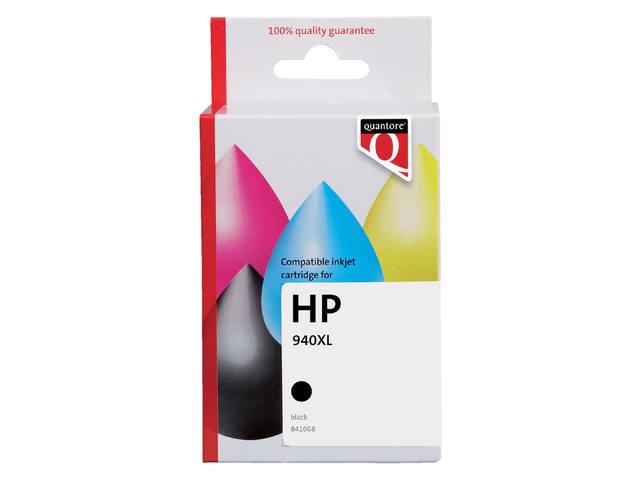 INKCARTRIDGE QUANTORE HP 940XL C4906AE HC ZWART