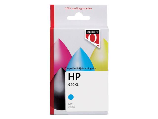 INKCARTRIDGE QUANTORE HP 940XL C9407AE HC BLAUW
