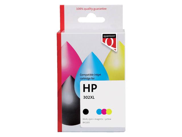 INKCARTRIDGE QUANTORE HP 302XL X4D37AE ZWART KLEUR 1