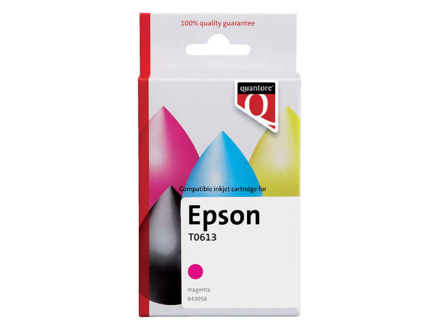 INKCARTRIDGE QUANTORE EPS T061340 ROOD