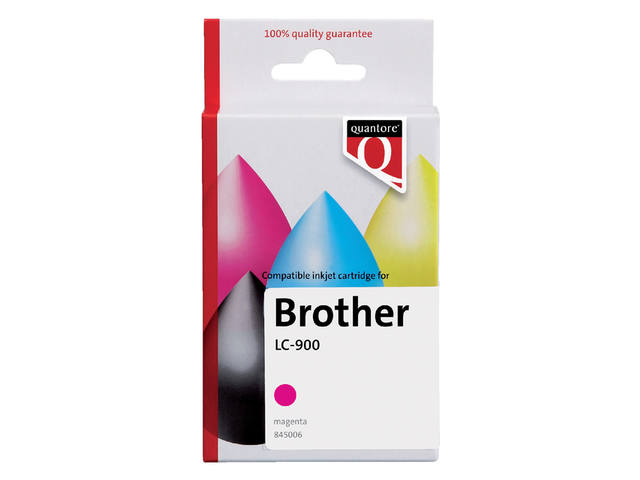 INKCARTRIDGE QUANTORE BRO LC-900 ROOD