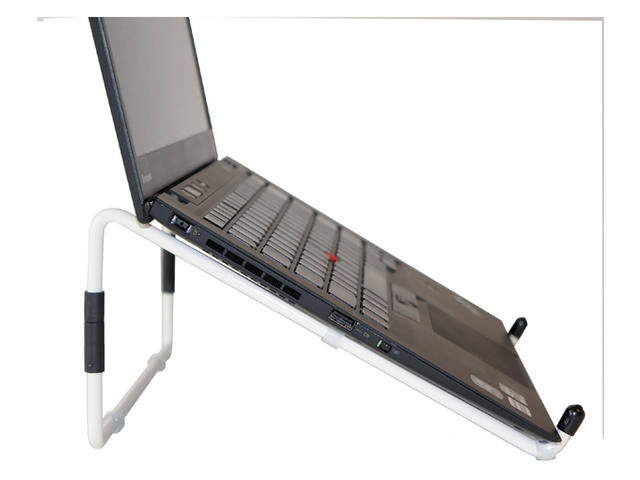LAPTOPSTANDAARD R-GO TRAVEL STEEL WIT