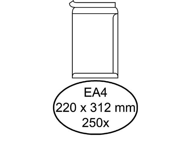 ENVELOP HERMES AKTE EA4 220X312 ZK 120GR 250ST WIT