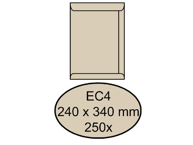 ENVELOP QUANTORE AKTE EC4 240X340 120GR CREMEKRAFT