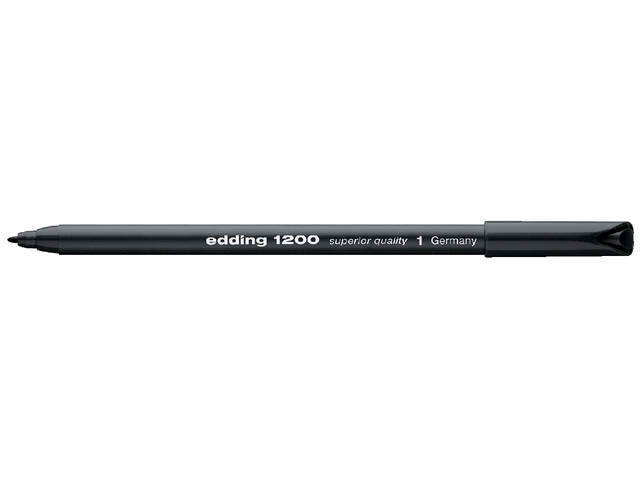 FINELINER EDDING 1200 0.5-1MM ZWART