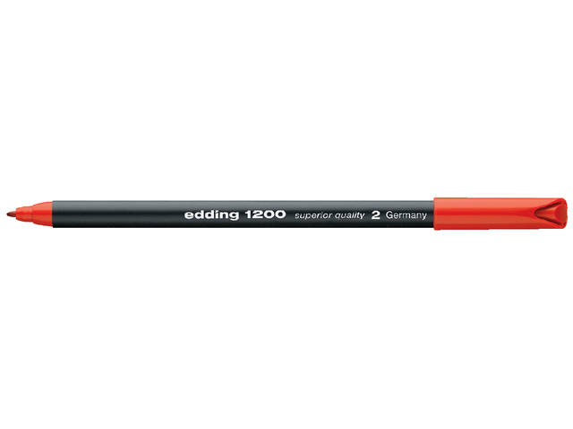 FINELINER EDDING 1200 0.5-1MM ROOD