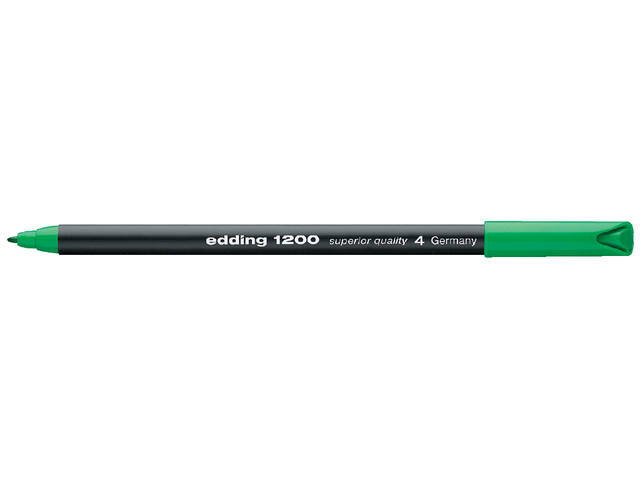FINELINER EDDING 1200 0.5-1MM GROEN