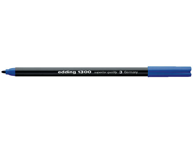 FINELINER EDDING 1300 3.0MM BLAUW