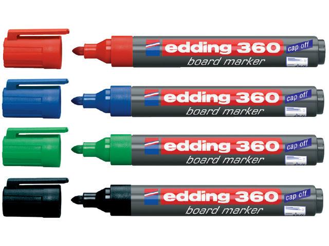 VILTSTIFT EDDING 360 WHITEBOARD ROND 1.5-3MM BLAUW 2