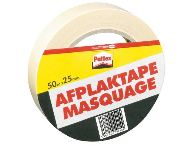 AFPLAKTAPE PATTEX 25MMX50M CREME