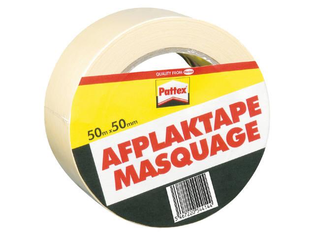 AFPLAKTAPE PATTEX 50MMX50M CREME