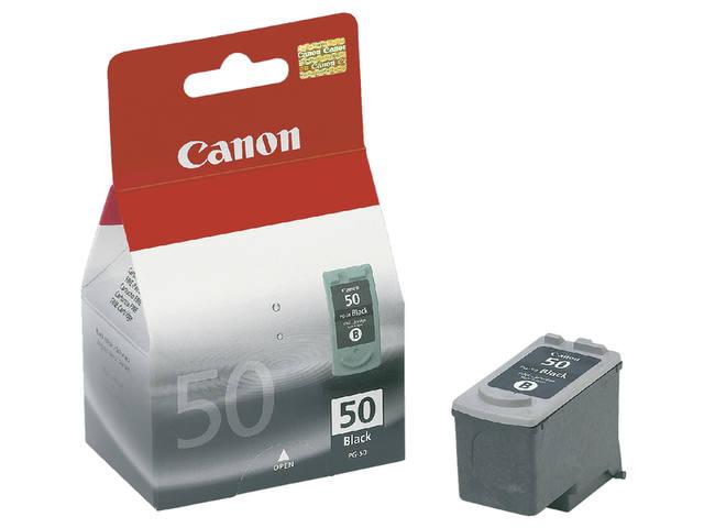 INKCARTRIDGE CANON PG-50 ZWART