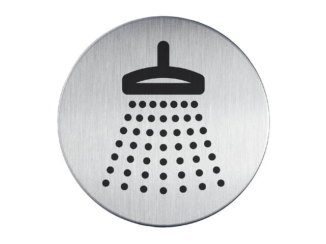 INFOBORD PICTOGRAM 83MM DURABLE DOUCHE 1