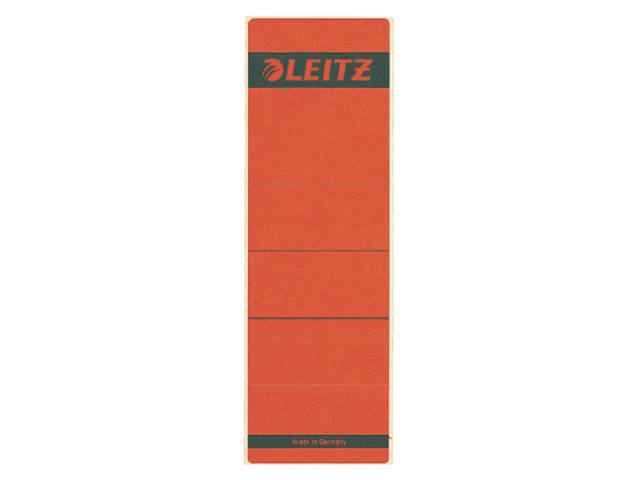 RUGETIKET LEITZ 1642 62X192MM ROOD