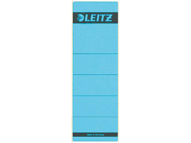 RUGETIKET LEITZ 1642 62X192MM BLAUW