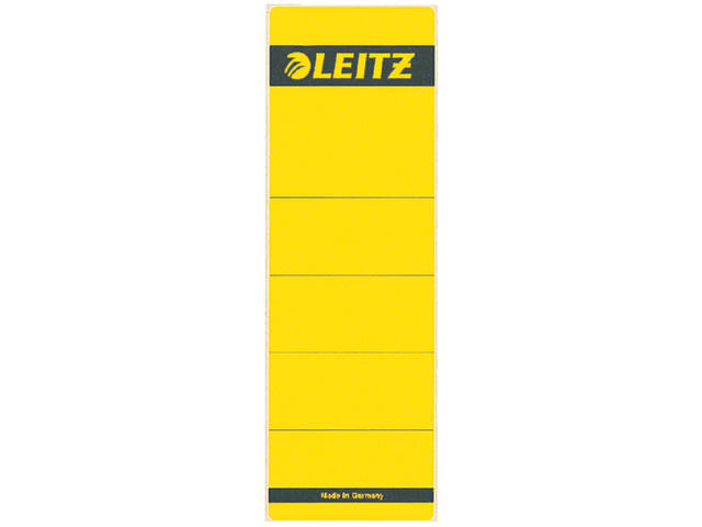 RUGETIKET LEITZ 1642 62X192MM GEEL
