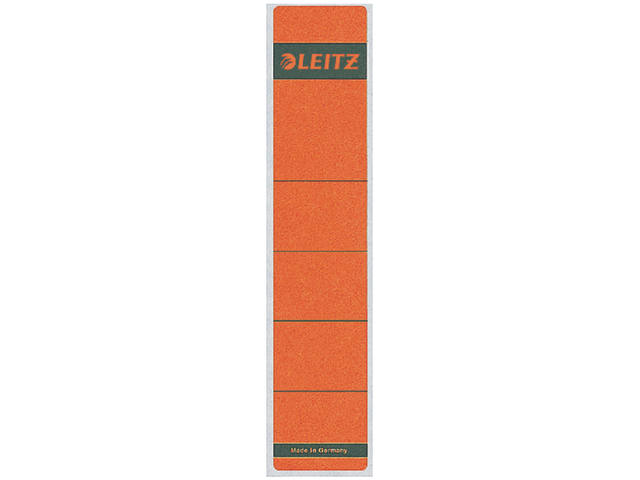 RUGETIKET LEITZ 1643 39X192MM ROOD