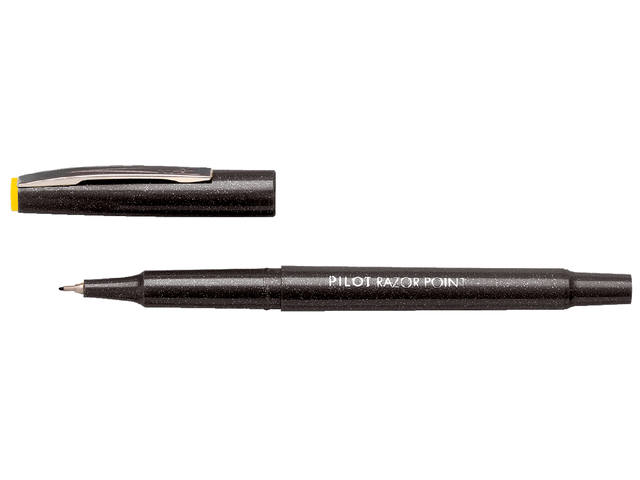 FINELINER PILOT RAZOR POINT SW-10 PP 0.4MM ZWART
