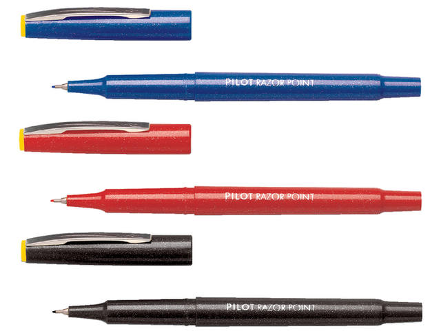 FINELINER PILOT RAZOR POINT SW-10 PP 0.4MM BLAUW 2