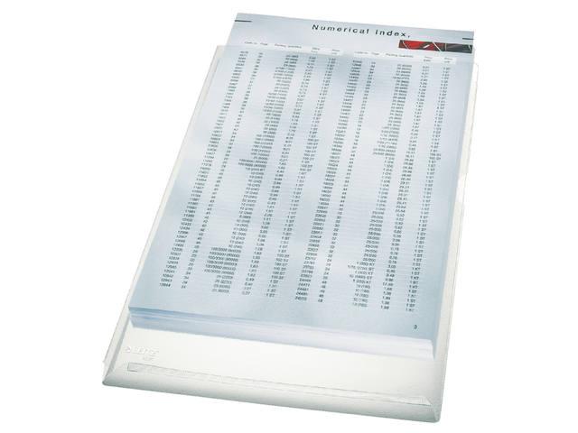 INSTEEKHOES LEITZ L-MODEL EXPANSIEVOUW A4 PVC TR