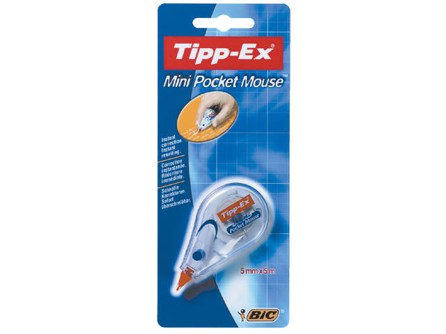 CORRECTIETAPE TIPP-EX POCKET MINI MOUSE 5MM
