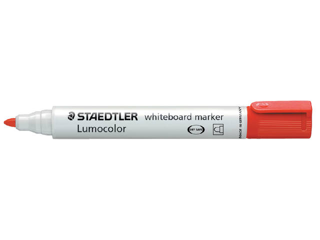 VILTSTIFT STAEDTLER 351 WHITEBOARD ROND 2MM ROOD 1