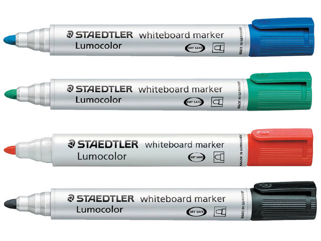 VILTSTIFT STAEDTLER 351 WHITEBOARD ROND 2MM ROOD 2
