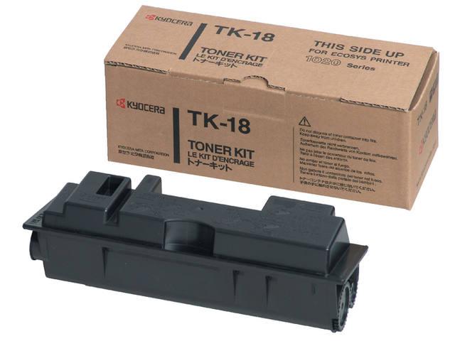 TONER KYOCERA TK-18 7.2K ZWART