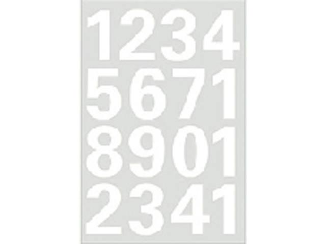 ETIKET HERMA 4170 GETAL 0-9 25MM WIT