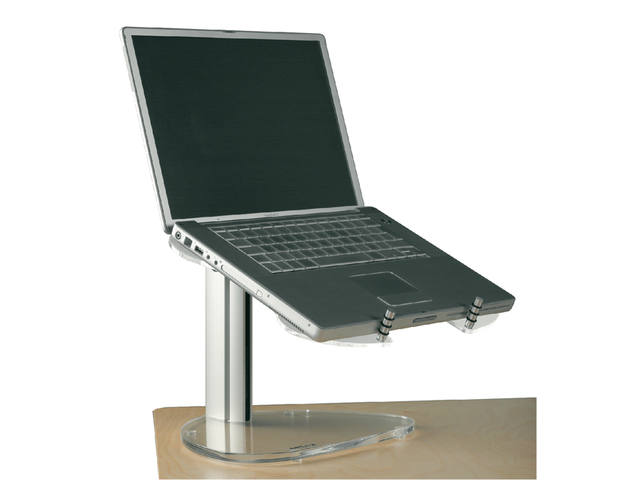 LAPTOPSTANDAARD FELLOWES OPUS 2 STYLE TRANSPARANT