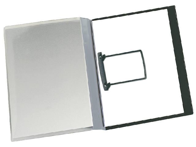 RAPPORTENMAP JALEMACLIP A4 15MM GRIJS