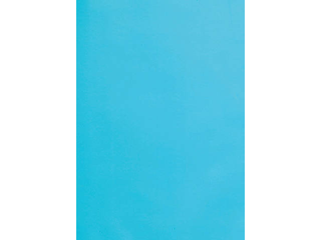 VOORBLAD GBC A4 PVC 180MICRON BLAUW