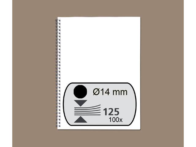 DRAADRUG FELLOWES 14MM 34RINGS A4 ZWART